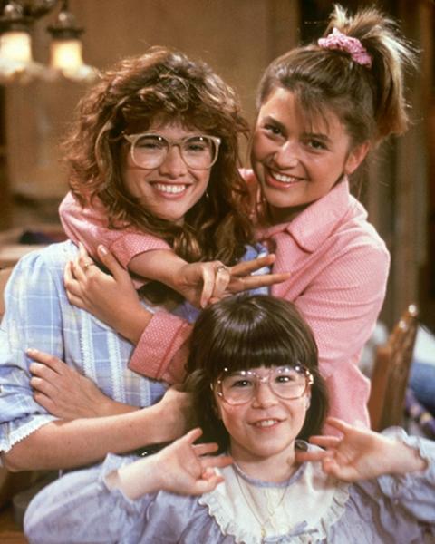 Heather Langenkamp, JoAnn Willette, and Heidi Zeigler in Just the Ten of Us (1987)