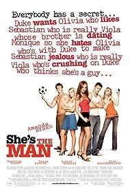 Amanda Bynes, Laura Ramsey, Robert Hoffman, and Channing Tatum in She's the Man (2006)