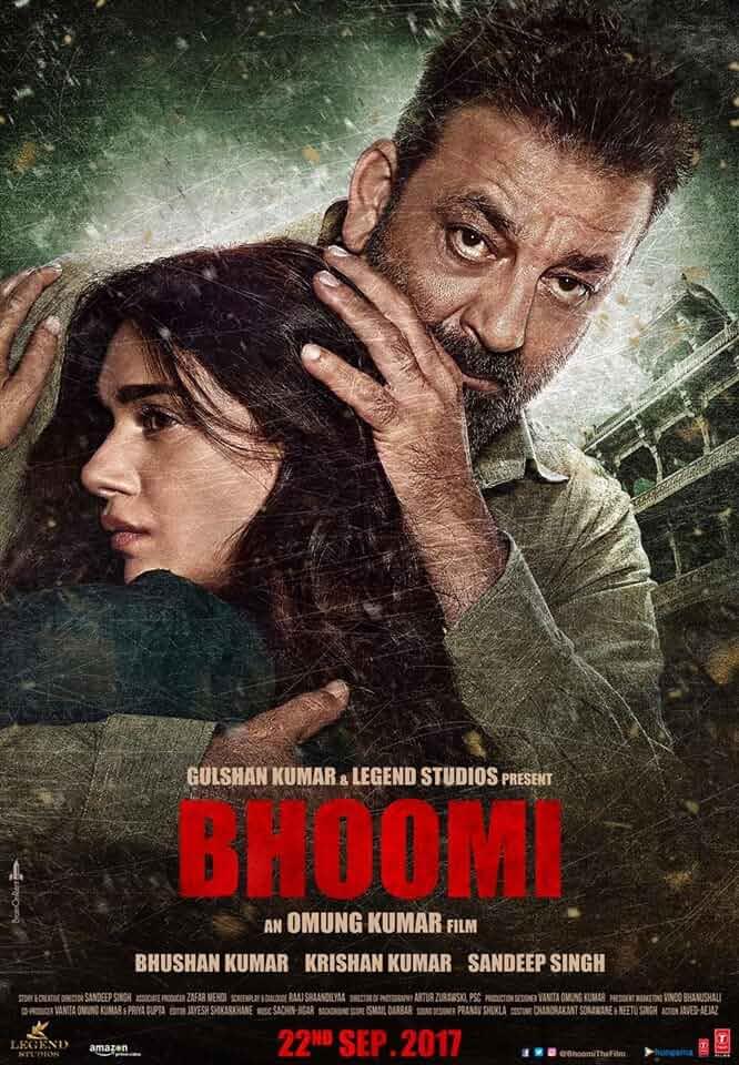 Bhoomi (2017) Hinid AMZN WEBrip x264 AAC Esub