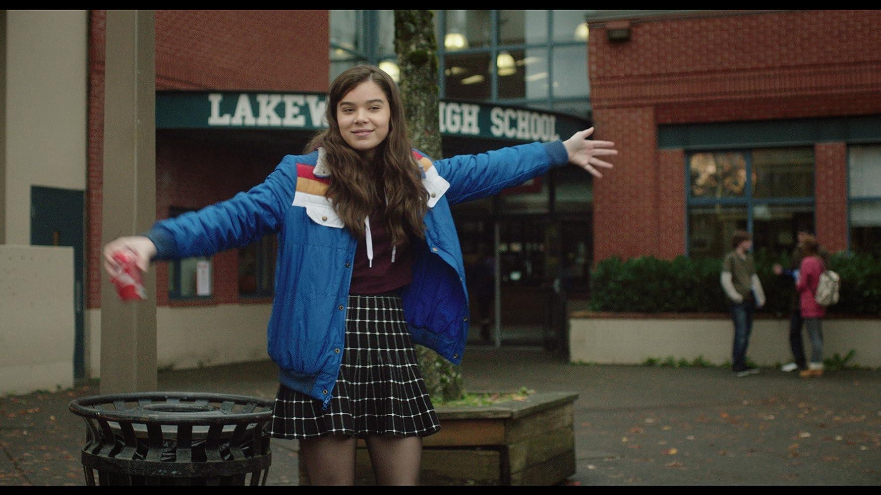 Hailee Steinfeld in The Edge of Seventeen (2016)
