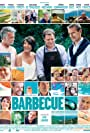 Guillaume de Tonquédec, Franck Dubosc, Lambert Wilson, and Florence Foresti in Barbecue (2014)