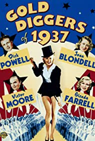 Joan Blondell, Glenda Farrell, Ethelreda Leopold, Victor Moore, and Dick Powell in Gold Diggers of 1937 (1936)