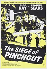 Victor Maddern and Aldo Ray in The Siege of Pinchgut (1959)