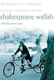 Shashi Kapoor and Madhur Jaffrey in Shakespeare-Wallah (1965)