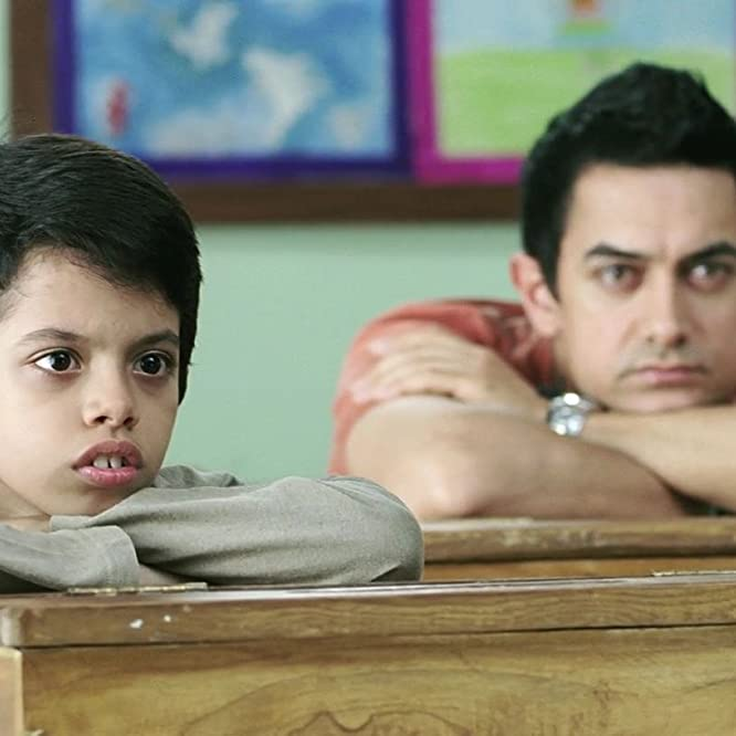 Aamir Khan and Darsheel Safary in Like Stars on Earth (2007)
