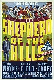 John Wayne, Ward Bond, Harry Carey, and Betty Field in The Shepherd of the Hills (1941)