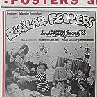 Buddy Boles, Janet Dempsey, Anna Ruth Hughes, Malcolm Hutton, Billy Lee, Henry 'Spike' Lee, Pat O'Malley, Carl 'Alfalfa' Switzer, and Herb Vigran in Reg'lar Fellers (1941)