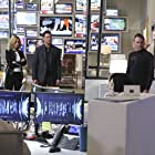 Calista Flockhart, Peter Facinelli, and Chris Vance in Supergirl (2015)