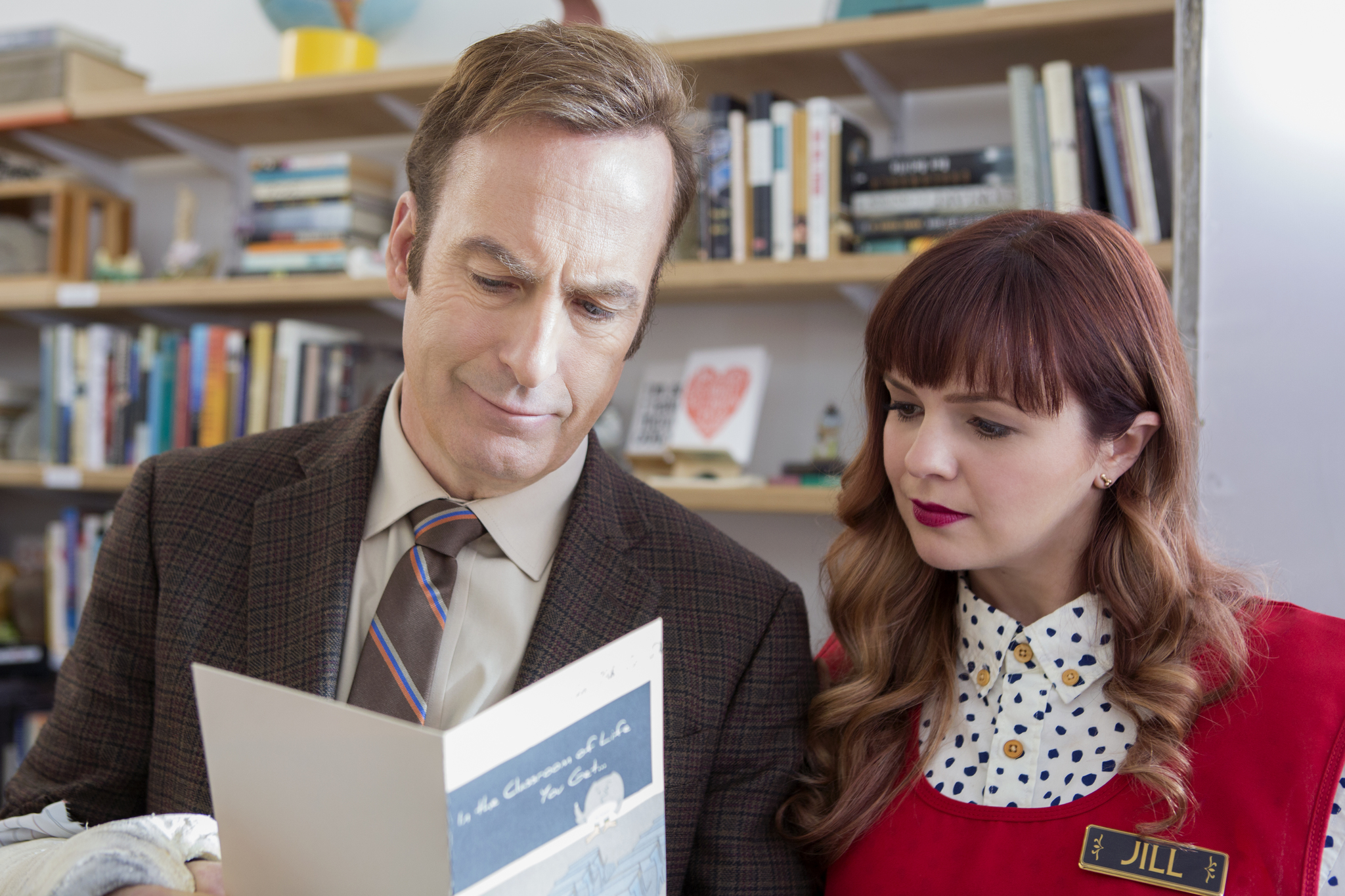 Bob Odenkirk and Amber Tamblyn in Girlfriend's Day (2017)
