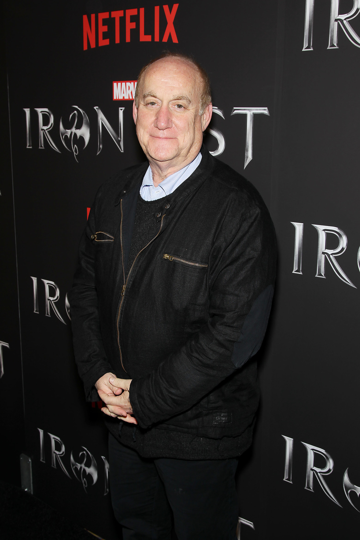 Jeph Loeb at an event for Iron Fist (2017)