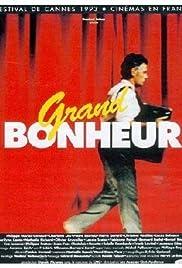 Grand bonheur Poster