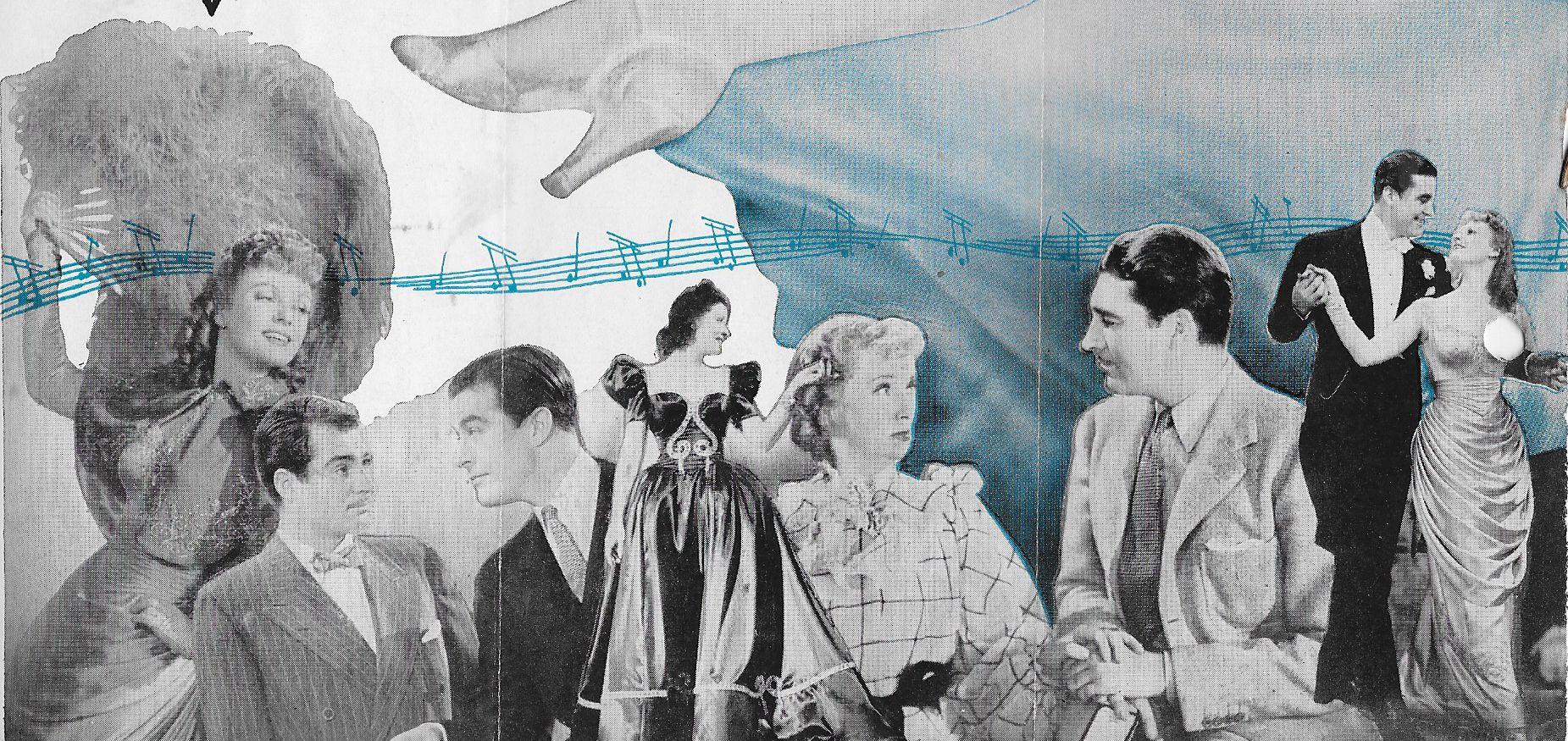 Billie Burke, Ray Milland, Alan Marshal, and Anna Neagle in Irene (1940)