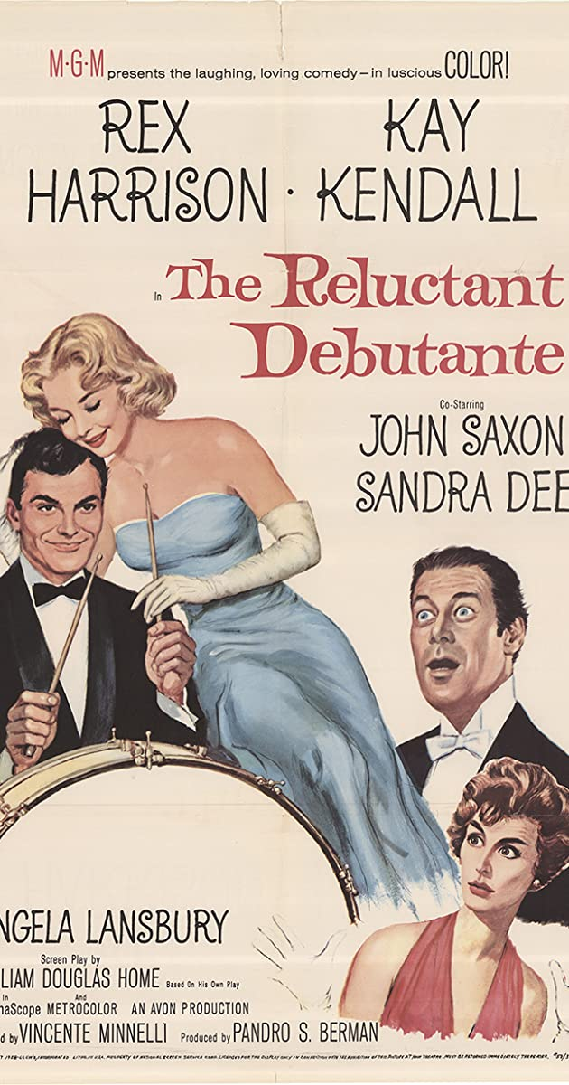 Subtitle of The Reluctant Debutante