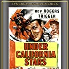 Roy Rogers, Andy Devine, Jane Frazee, Sons of the Pioneers, and Trigger in Under California Stars (1948)
