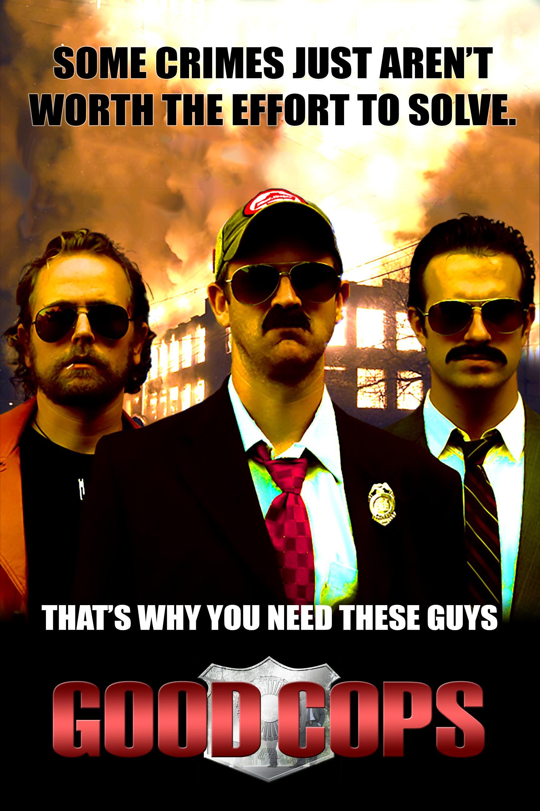 Jacob Givens, Derek Haugen, and Noel Carroll in Good Cops (2011)