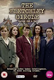 Julie Graham, Hattie Morahan, Rachael Stirling, Anna Maxwell Martin, and Sophie Rundle in The Bletchley Circle (2012)