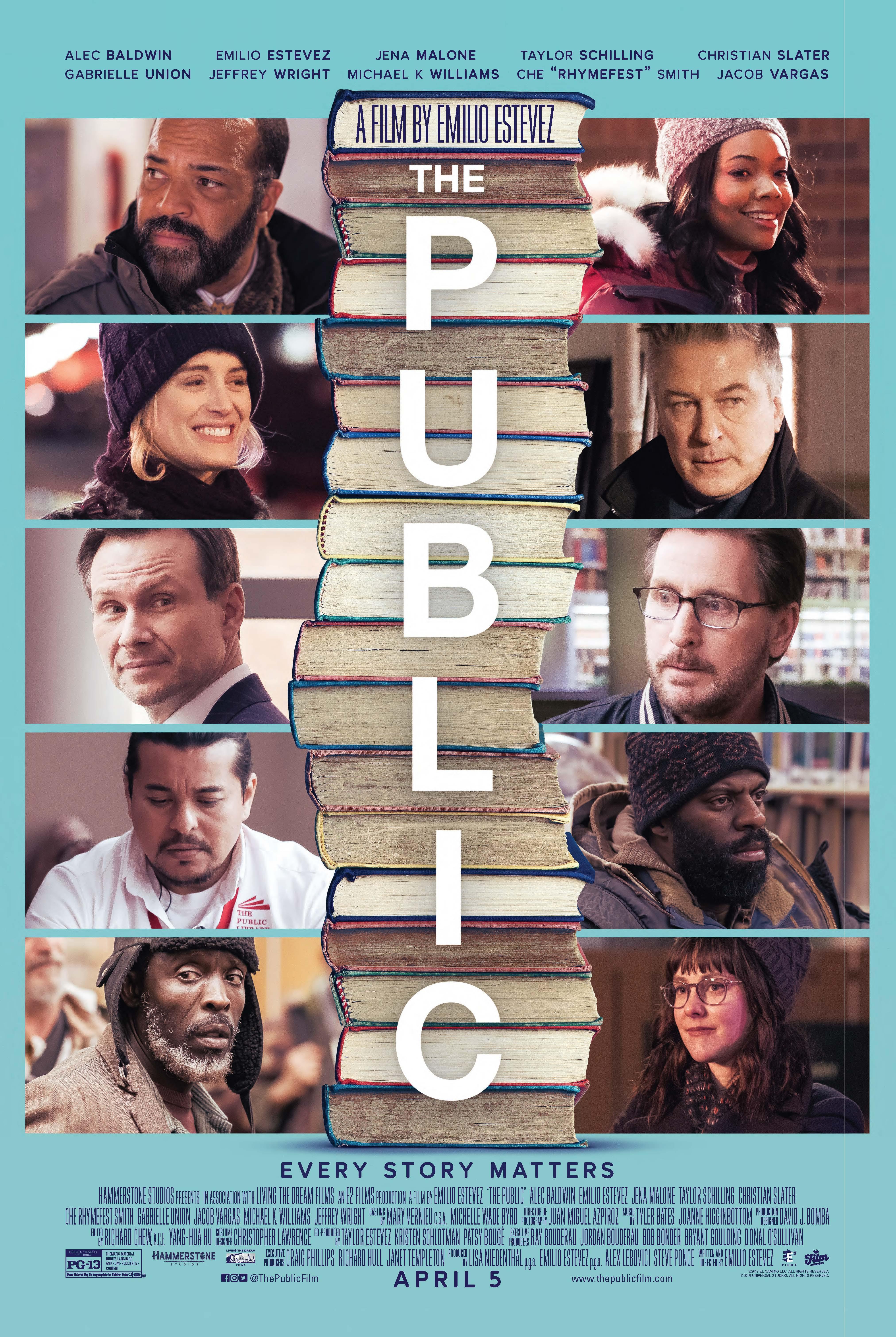The Public (2018) BluRay 720p & 1080p