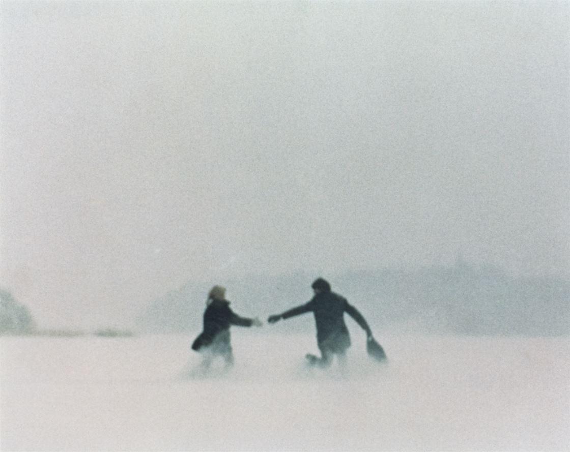 Cia Löwgren and Peter Schildt in Skottet (1969)