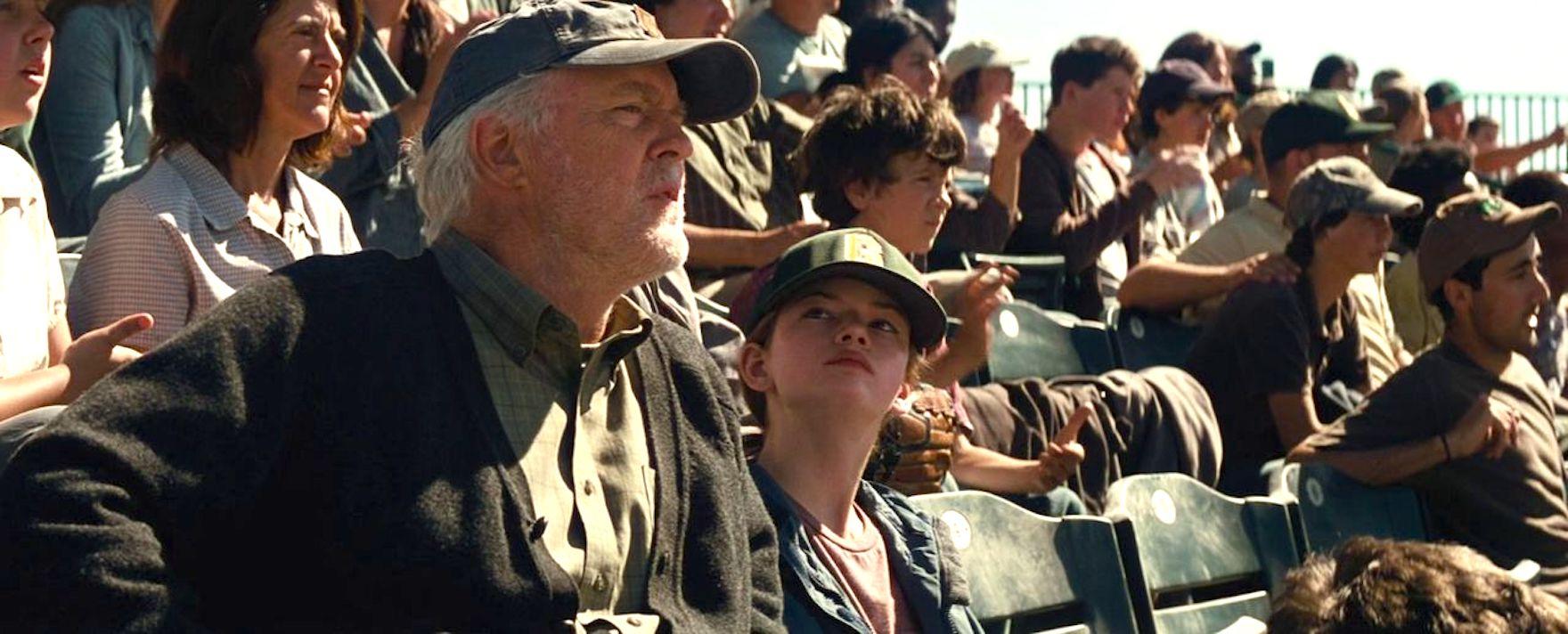 John Lithgow and Mackenzie Foy in Interstellar (2014)