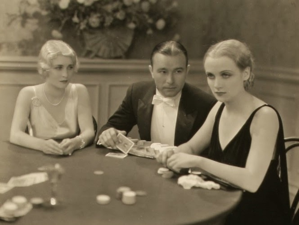 Carole Lombard, Robert Armstrong, and Jeanette Loff in The Racketeer (1929)