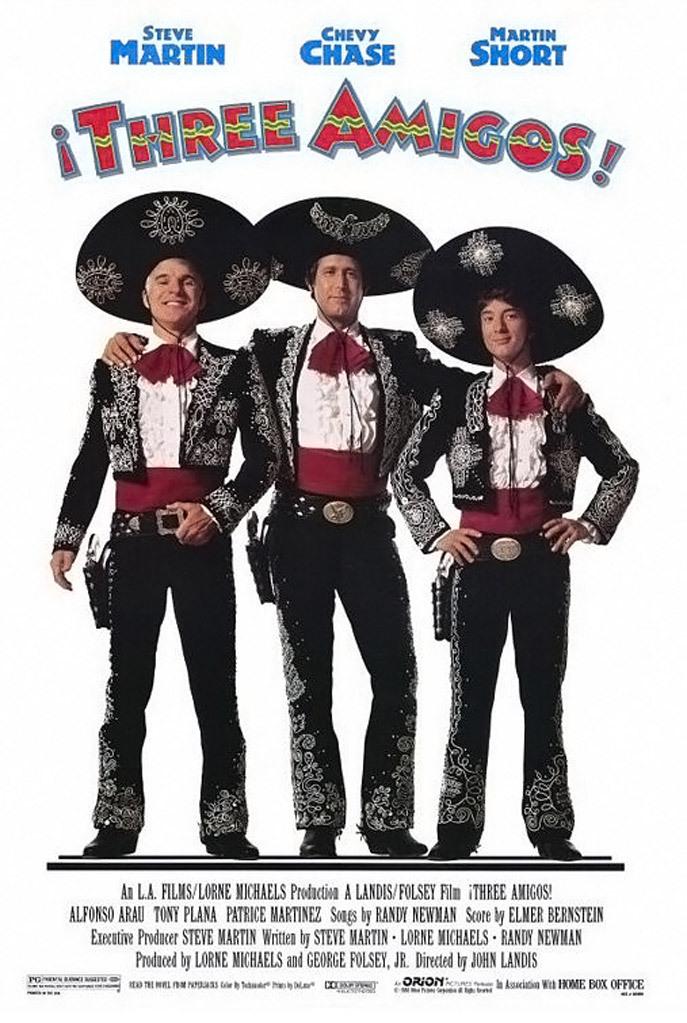 Trys draugai / ¡Three Amigos! (1986) Online