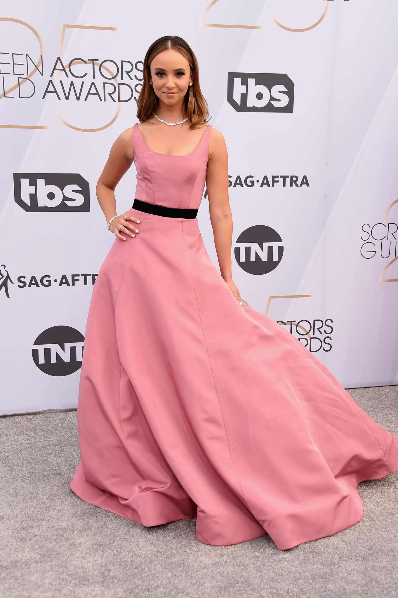 Britt Baron at an event for The 25th Annual Screen Actors Guild Awards (2019)