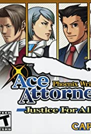 Phoenix Wright: Ace Attorney - Justice for All Poster