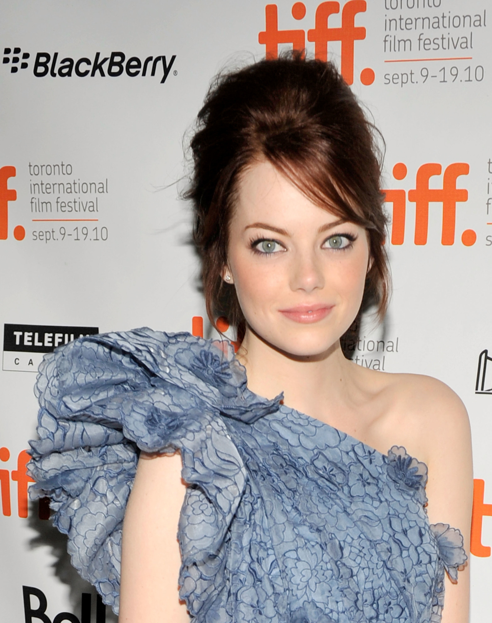Emma Stone at an event for Easy A (2010)