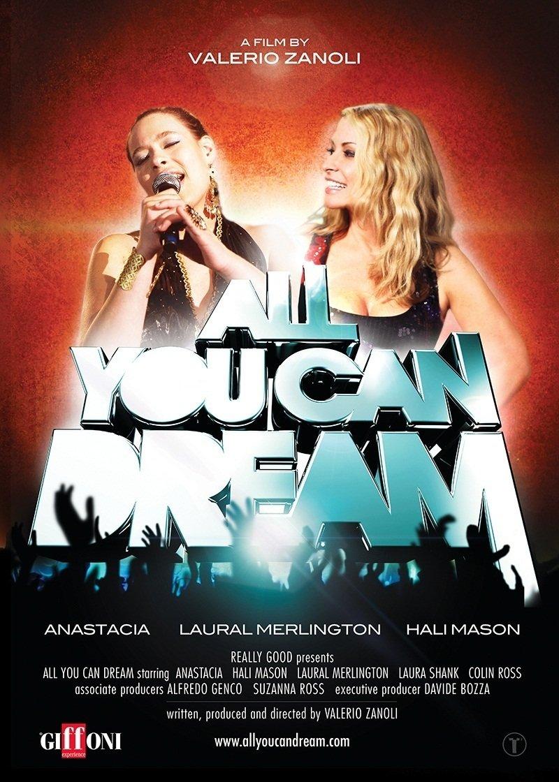 Anastacia, Valerio Zanoli, and Hali Mason in All You Can Dream (2012)