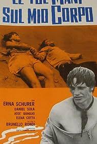 Lino Capolicchio and Colette Descombes in Le tue mani sul mio corpo (1970)