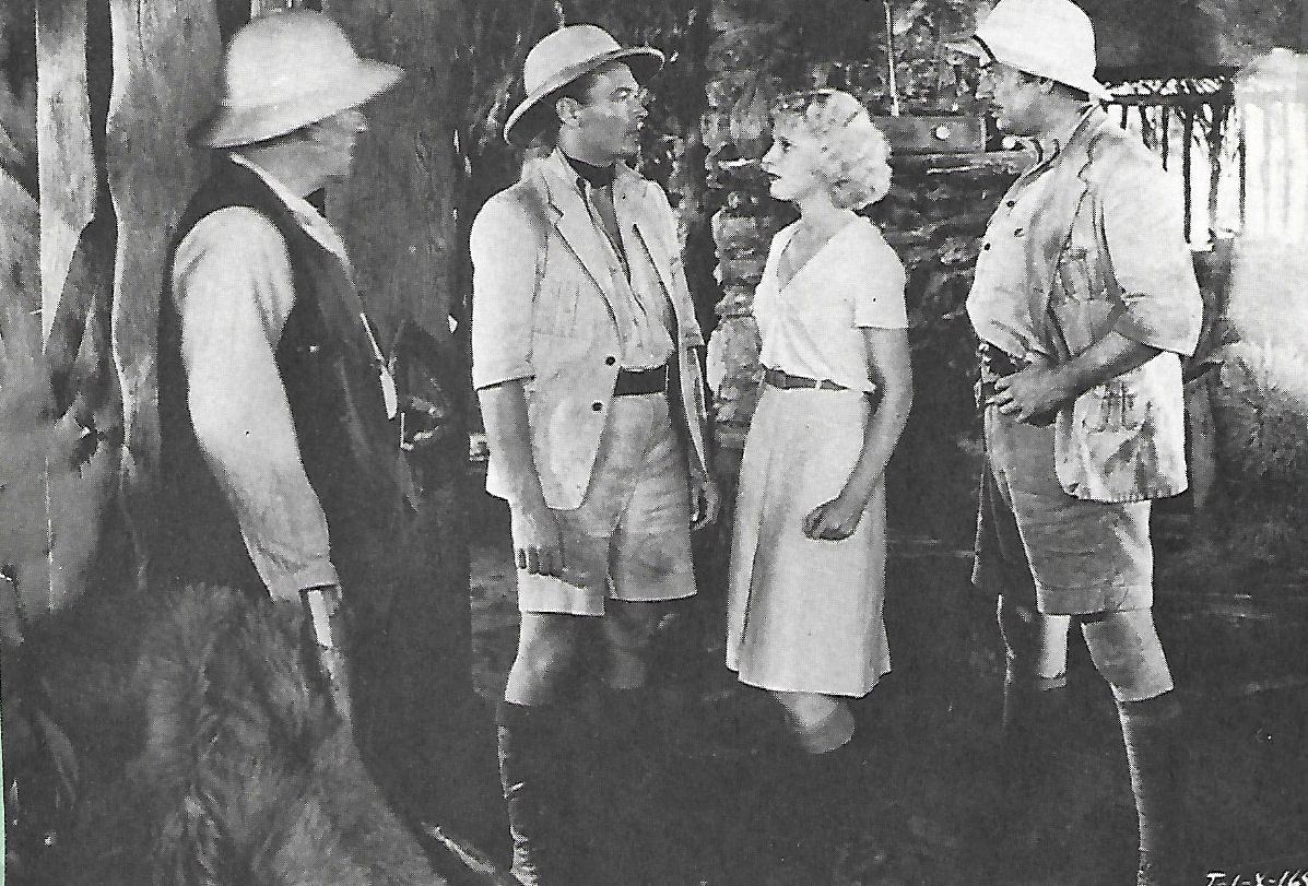 Julie Bishop, Philo McCullough, E. Alyn Warren, and Edward Woods in Tarzan the Fearless (1933)