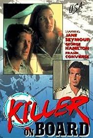 George Hamilton and Jane Seymour in Killer on Board (1977)