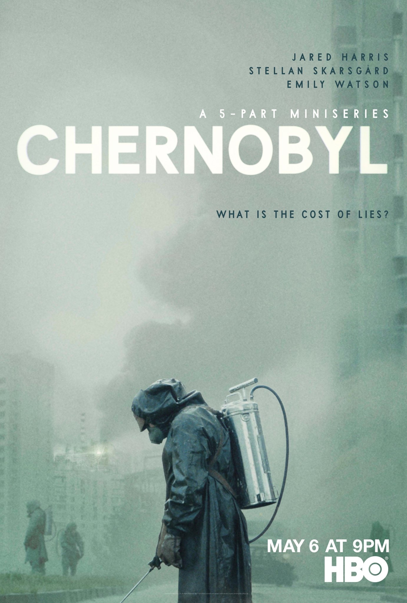 Image result for chernobyl hbo poster