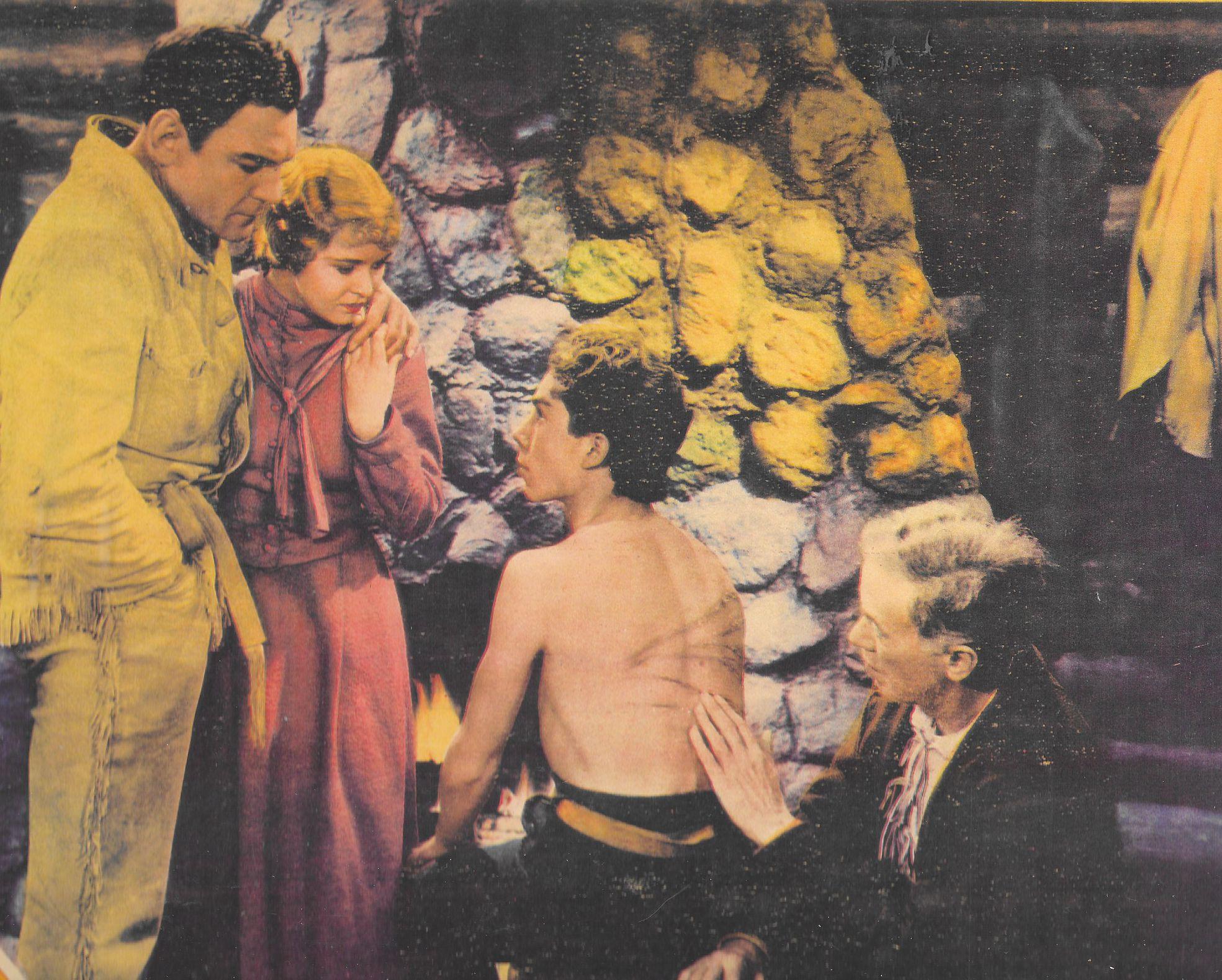 Buck Black, Buck Jones, Cecilia Parker, and Harry Todd in Unknown Valley (1933)