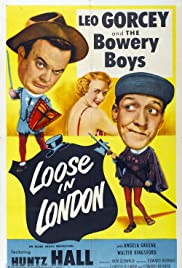 Loose in London Poster