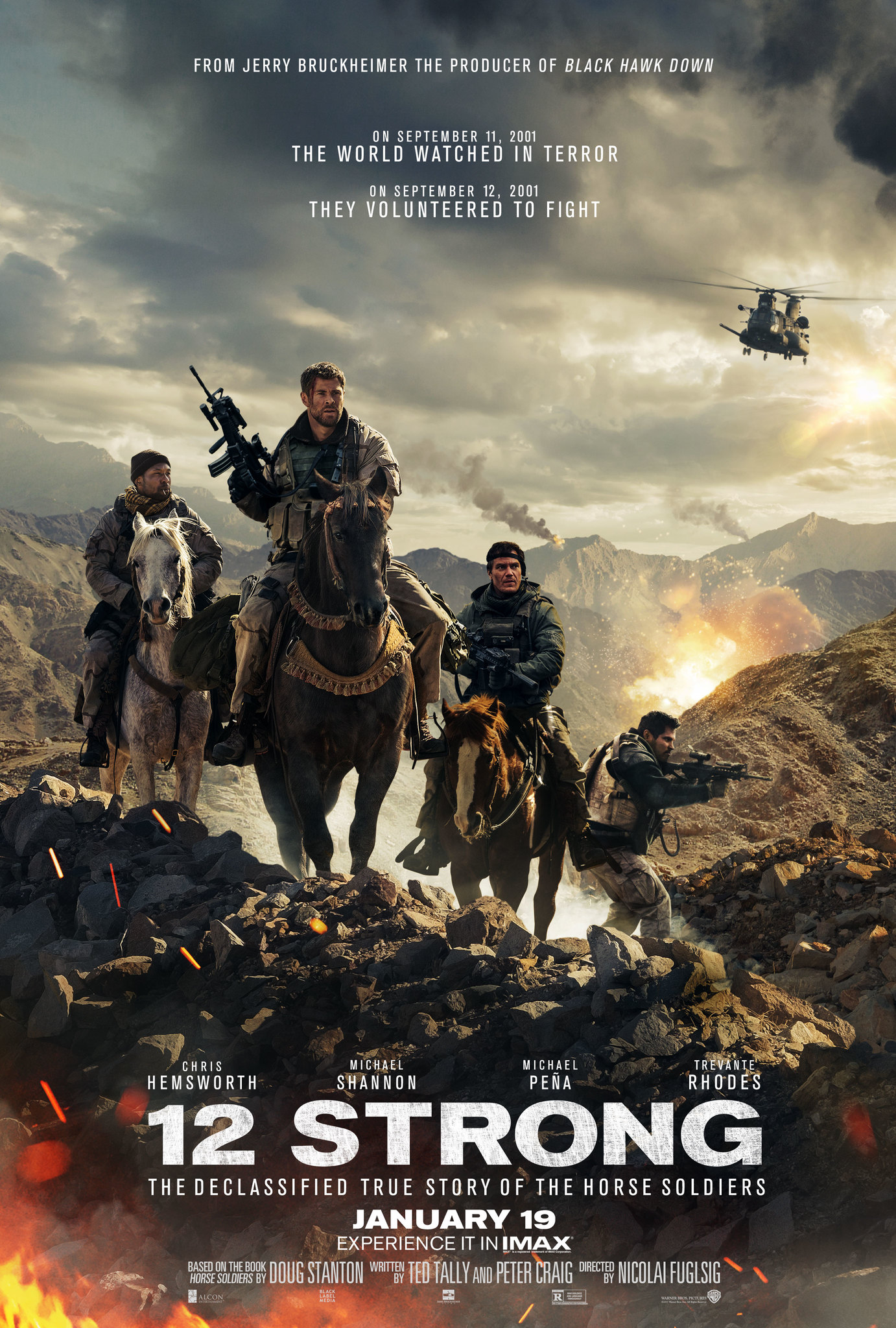 12 Strong (2019) Bengali Dubbed ORG 720p WEB-DL x264 AAC 800MB Download