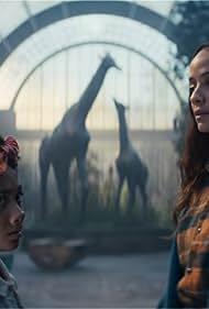 Dania Ramirez and Naledi Murray in Sweet Tooth (2021)