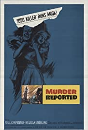 Murder Reported Poster