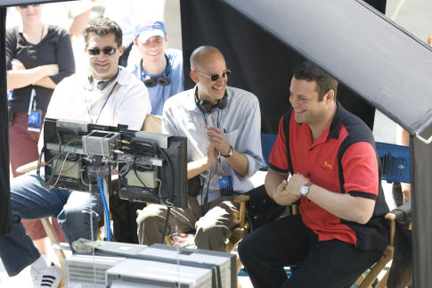 Vince Vaughn, Peyton Reed, and Scott Stuber in The Break-Up (2006)