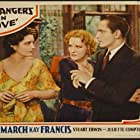 Juliette Compton, Kay Francis, and Fredric March in Strangers in Love (1932)