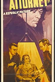 Peter Lorre, Dennis O'Keefe, Florence Rice, and Stanley Ridges in Mr. District Attorney (1941)