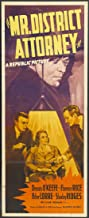 Mr. District Attorney (1941) Poster