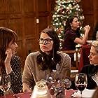 Clea DuVall, Kristen Stewart, and Mackenzie Davis at an event for Happiest Season (2020)