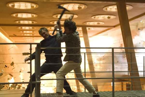 Mathieu Amalric and Daniel Craig in Quantum of Solace (2008)