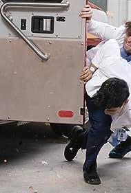 Jake Borelli and Alex Landi in Grey's Anatomy (2005)