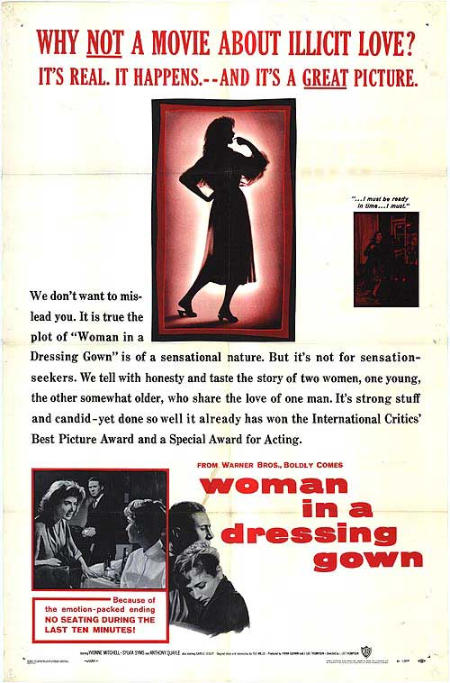 Woman in a Dressing Gown (1957) - IMDb