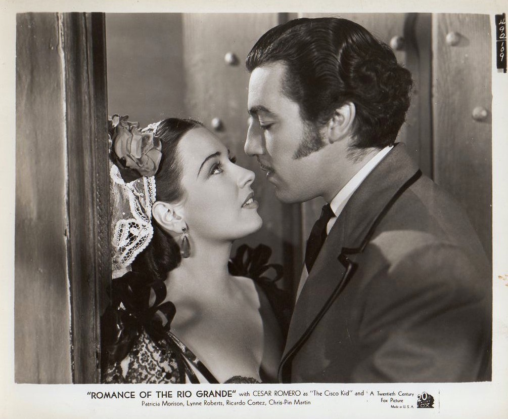 Cesar Romero and Patricia Morison in Romance of the Rio Grande (1940)