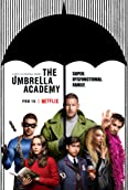 Ellen Page, Robert Sheehan, Tom Hopper, David Castañeda, Jack Lewis, Aidan Gallagher, and Emmy Raver-Lampman in The Umbrella Academy (2019)