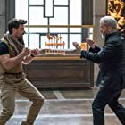 Mel Gibson and Frank Grillo in Boss Level (2021)
