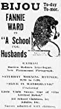 A School for Husbands (1917) Poster
